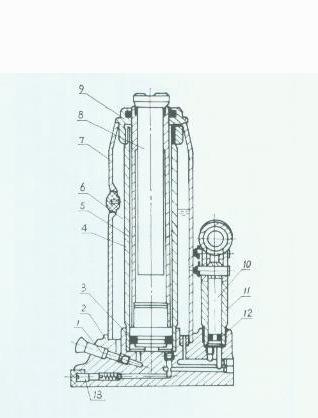 Ersatzteile Hydraulikheber BT-HJ 2000