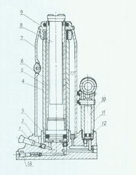 Ricambi Sollevatore idraulico BT-HJ 5000
