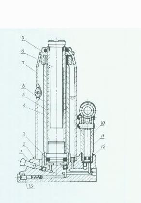 Ricambi Sollevatore idraulico BT-HJ 8000