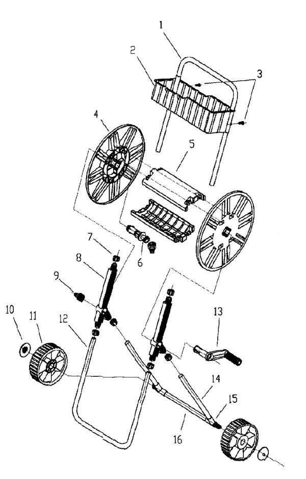 Ersatzteile Schlauchwagen BG-HR 60
