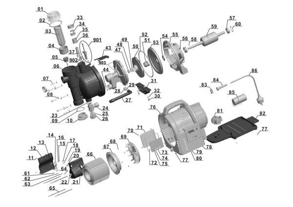 Refacciones Grupo automático GC-AW 1136