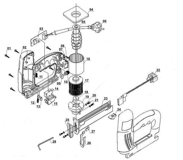Refacciones Grapador eléctrica BT-EN 30 E
