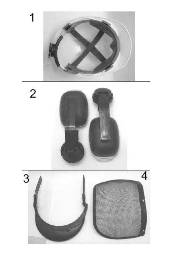 Ersatzteile Forstschutzhelm Forstschutzhelm (BG-SH 1)