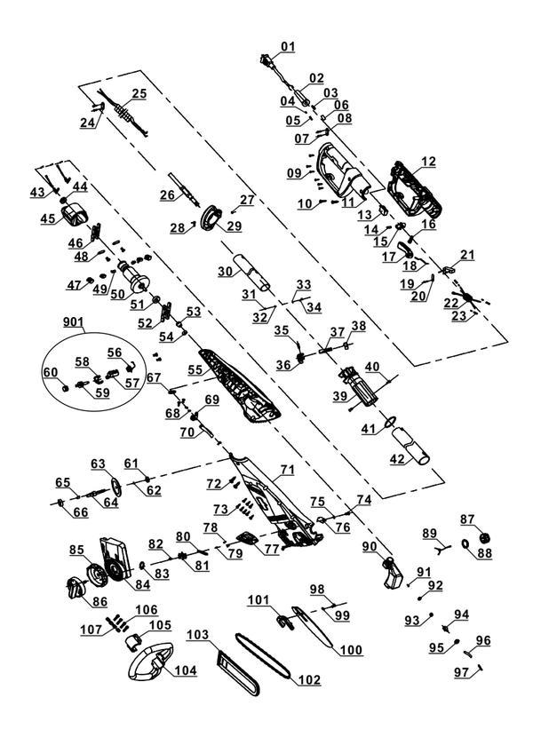 Ricambi Svettatoio elettrico GC-EC 750 T Kit