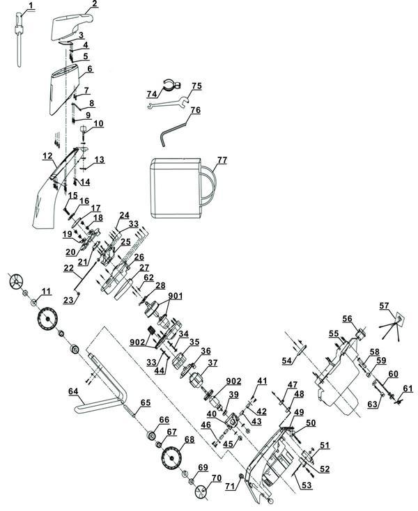 Ersatzteile Elektro-Messerhäcksler GH-KS 2440