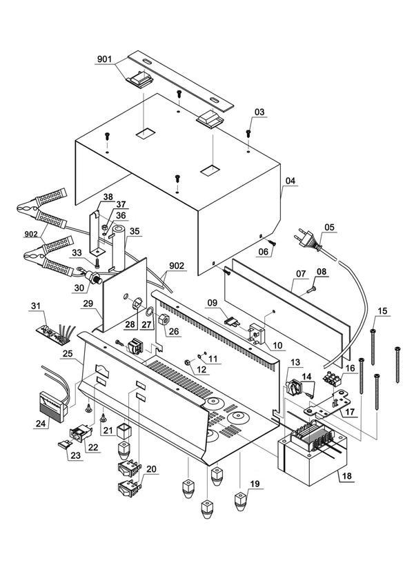 Ersatzteile Batterie-Ladegerät CC-BC 22 E