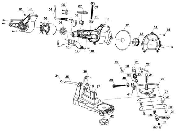 Ersatzteile Sägekettenschärfgerät GC-CS 85 E