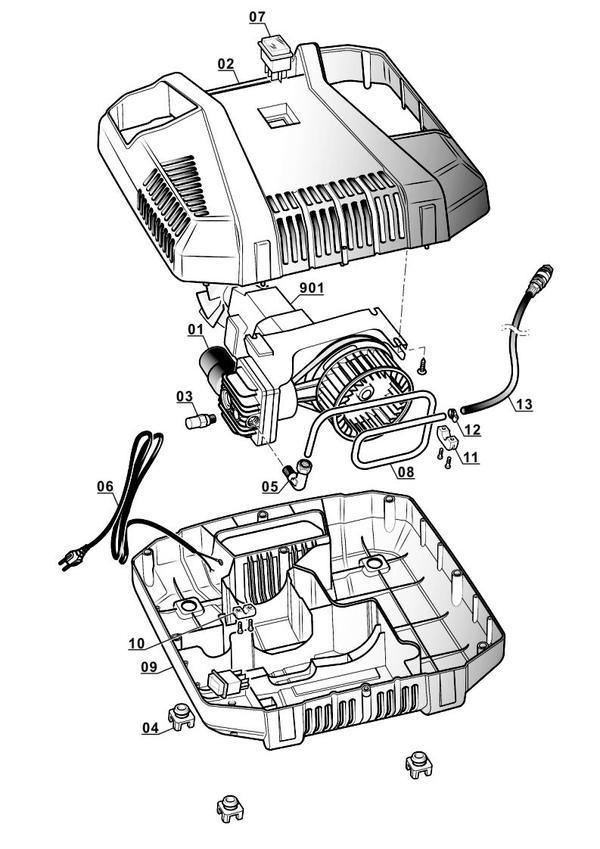 Ersatzteile Kompressor TC-AC 190/8 Kit