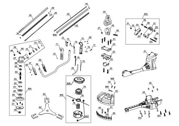 Ersatzteile Benzin-Sense GC-BC 30 AS