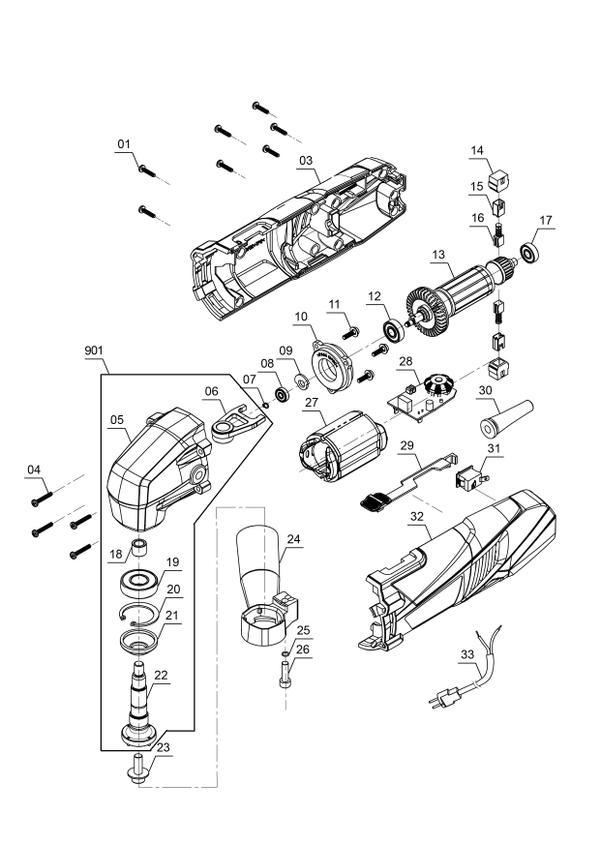 Refacciones Masina multifunctionala TC-MG 220/1 E