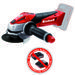 Productimage Cordless Angle Grinder TE-AG 18 Li-Solo; EX; ARG