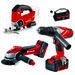 Productimage Power Tool Kit TE-TK 18 Li Kit (AG+CD+JS)