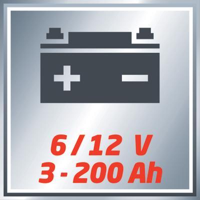 Kurzschluss Verpolungsschutz EINHELL CC BC 10 M Batterie