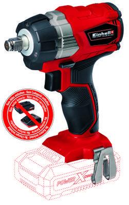 einhell-expert-plus atornillador-de-impacto-inalámbrico te-cw-18li-bl;brushless-solo produktbild 1