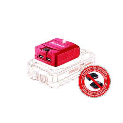4514120 Einhell TE-CP 18 Li USB Solo Akku Adapter