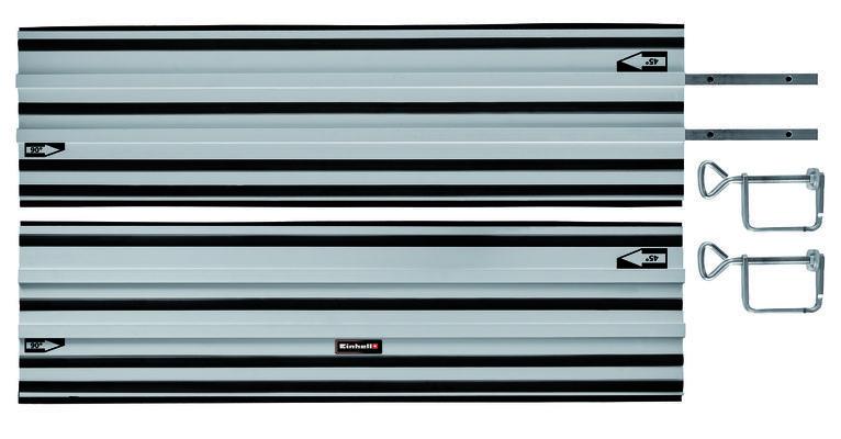 Guide rail Alu 2x1000mm