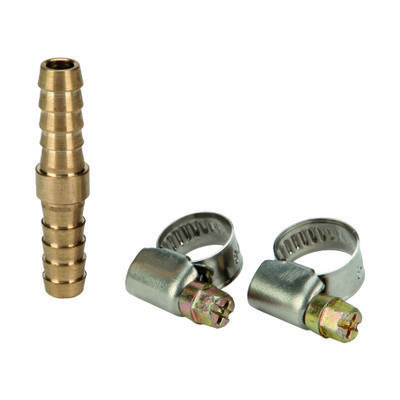 double hose connector, 9mm dia