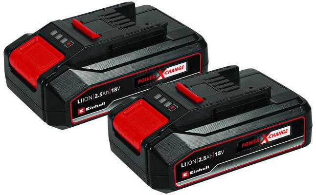 2x 18V 2,5Ah PXC-Twinpack