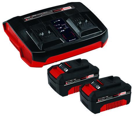2x 4,0Ah & Twincharger Kit
