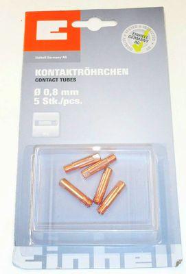 Kontaktröhrchen 0,9 mm, 5 Stck